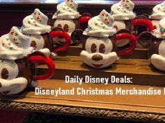 Daily Disney Deals: Disneyland Christmas Merchandise Edition