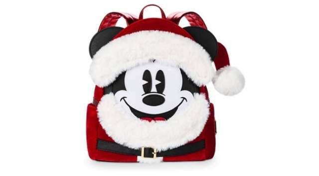 HoHoHo Santa Mickey Loungefly Backpack Now Available!