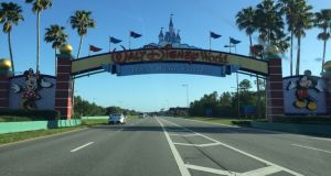 Bus Catches Fire at Walt Disney World's Ticket and Transportation Center