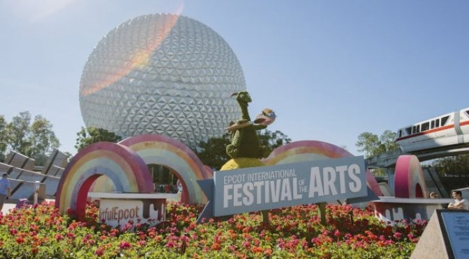 Annual Passholder Magnet Revealed For Epcot Festival Of The Arts 2020 Kennythepirate Com