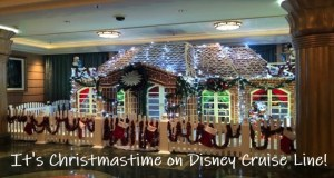 It's Christmastime on Disney Cruise Line!