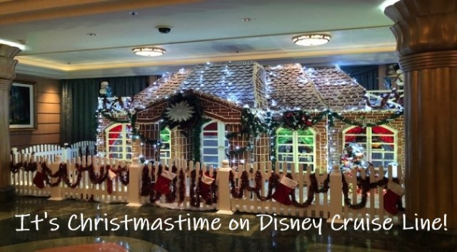 It's Christmastime on Disney Cruise Line!