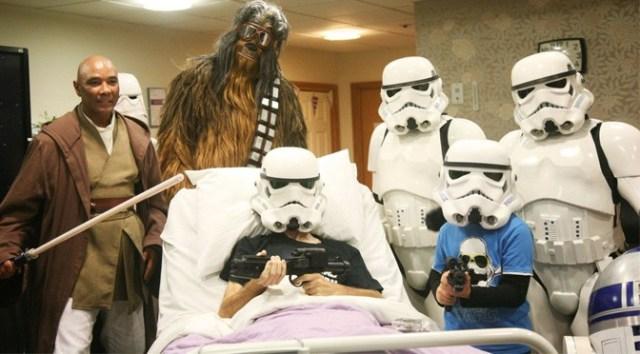 Dying Fan gets Early Screening of Star Wars: The Rise of Skywalker