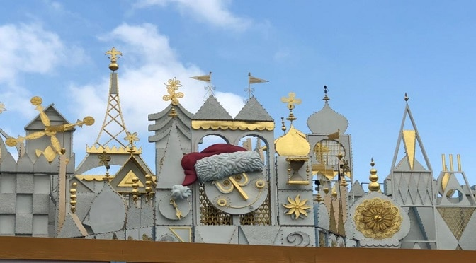 New Scents Added to Disneyland's It's a Small World Holiday Overlay