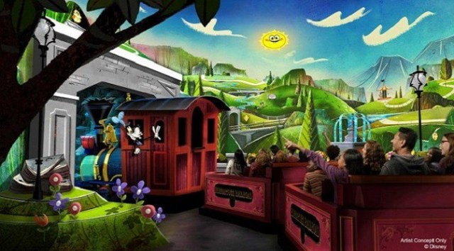 BREAKING: Mickey and Minnie's Runaway Railway Now a FastPass+ Option!
