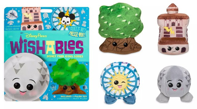New Park Icon Wishables Collection Now Available!