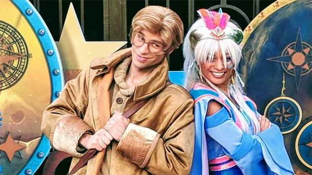 Amazingly Rare Characters to Appear at Magic Kingdom Moonlight Magic
