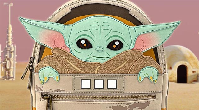 "Coming Soon: ""The Child"" aka Baby Yoda Loungefly Mini Backpack"