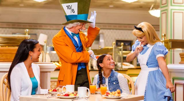 Changes Announced for Disney World Resort Character Meals During Closure