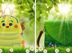 New Bug's Life Loungefly Backpack Sneak Peek