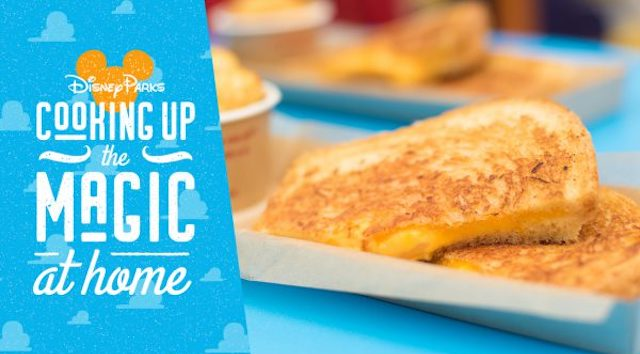 Cooking Up the Magic: Grilled 3-Cheese Sandwich from Woody's Lunch Box