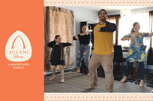 Video: Learn the Aulani Hula At Home
