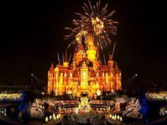 Watch: Shanghai Disneyland's Nighttime Fireworks