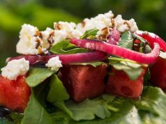 Make this Watermelon Salad from Epcot's Flower and Garden Festival!