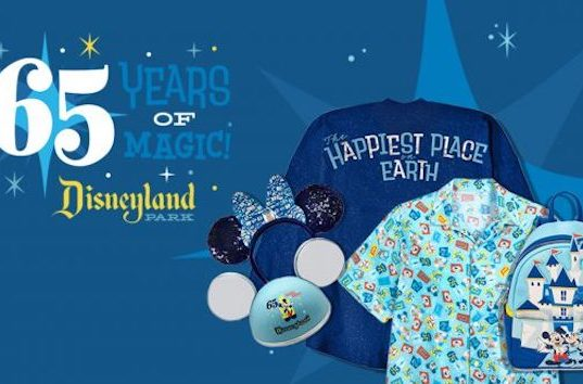 65th Anniversary Merchandise for Disneyland