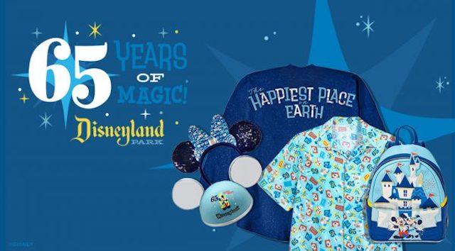 65th Anniversary Merchandise for Disneyland