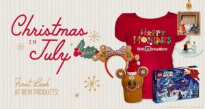 Christmas in July: New Merchandise Now Available on shopDisney