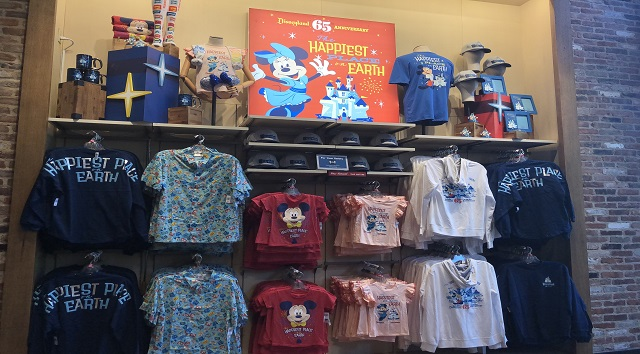 A Look at New Merchandise at World of Disney Store in Anaheim