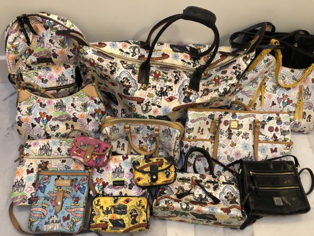 Disney Dooney and Bourke purses