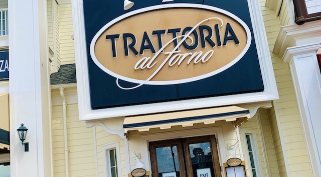 Trattoria al Forno Breakfast and Dinner Review