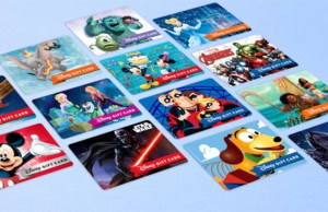 Which Disney Gift Card Design is Your Favorite?