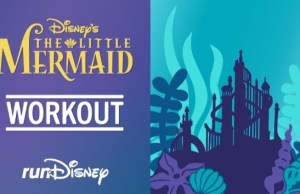 runDisney Shares Cross-Training Workout: The Little Mermaid
