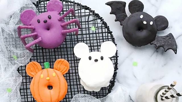 Check Out How To Make Fun, Spooky Mickey Halloween Donuts!