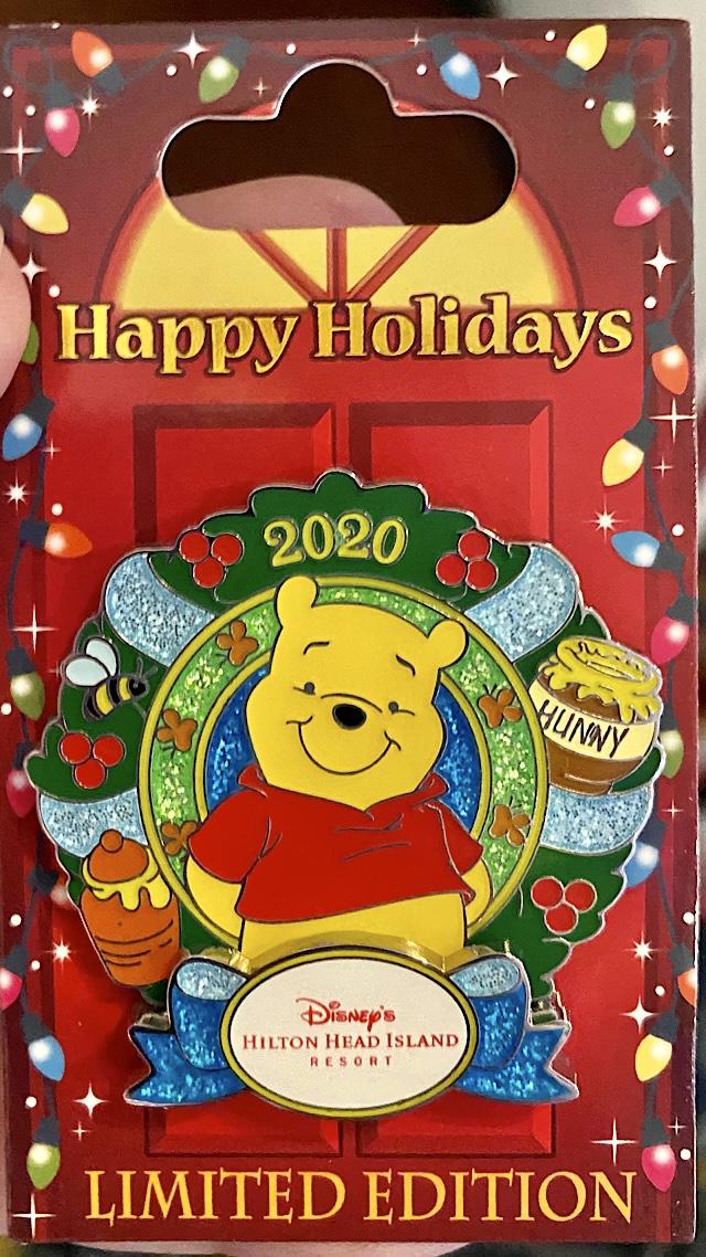 2020 Disney resort holiday pin