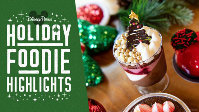 Check Out the New Holiday Food and Treats at Disney Springs