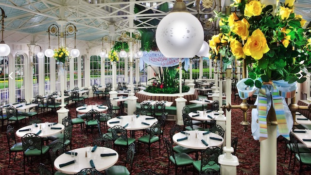 New and Updated Menu for Crystal Palace's Reopening!