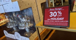 Disney holiday merchandise is now on sale!