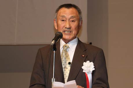 武石市議会議長の祝辞