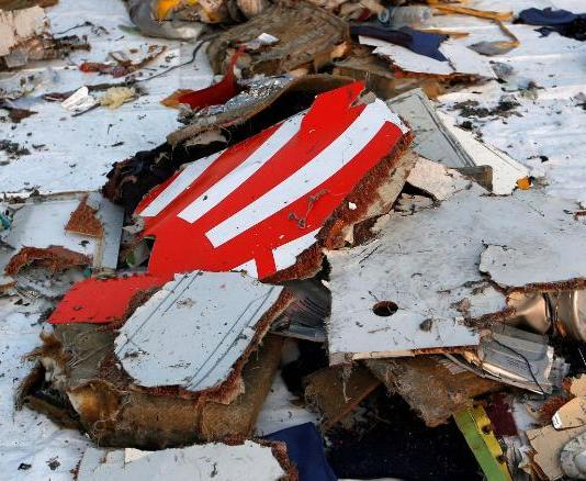 Wreckage recovered from Lion Air flight JT610, that crashed into the sea, lies at Tanjung Priok port in Jakarta, Indonesia, October 29, 2018. REUTERS/Willy Kurniawan