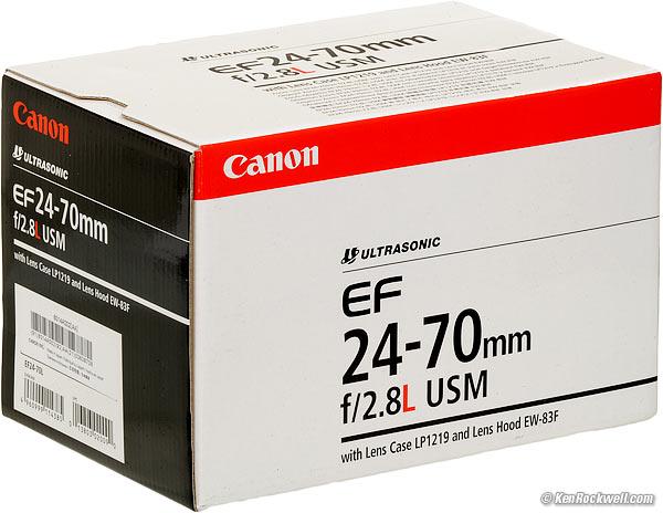 Canon 24-70mm f/2.8 L