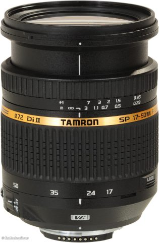 Tamaron Camera lens