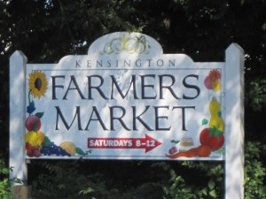 Kensington Farmers Market - Saturdays 8a-12p