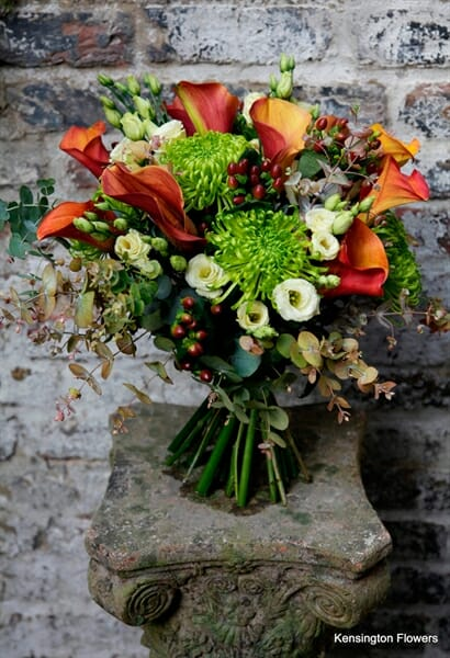 Seasonal Hand Tied Bouquets Kensington Flowers