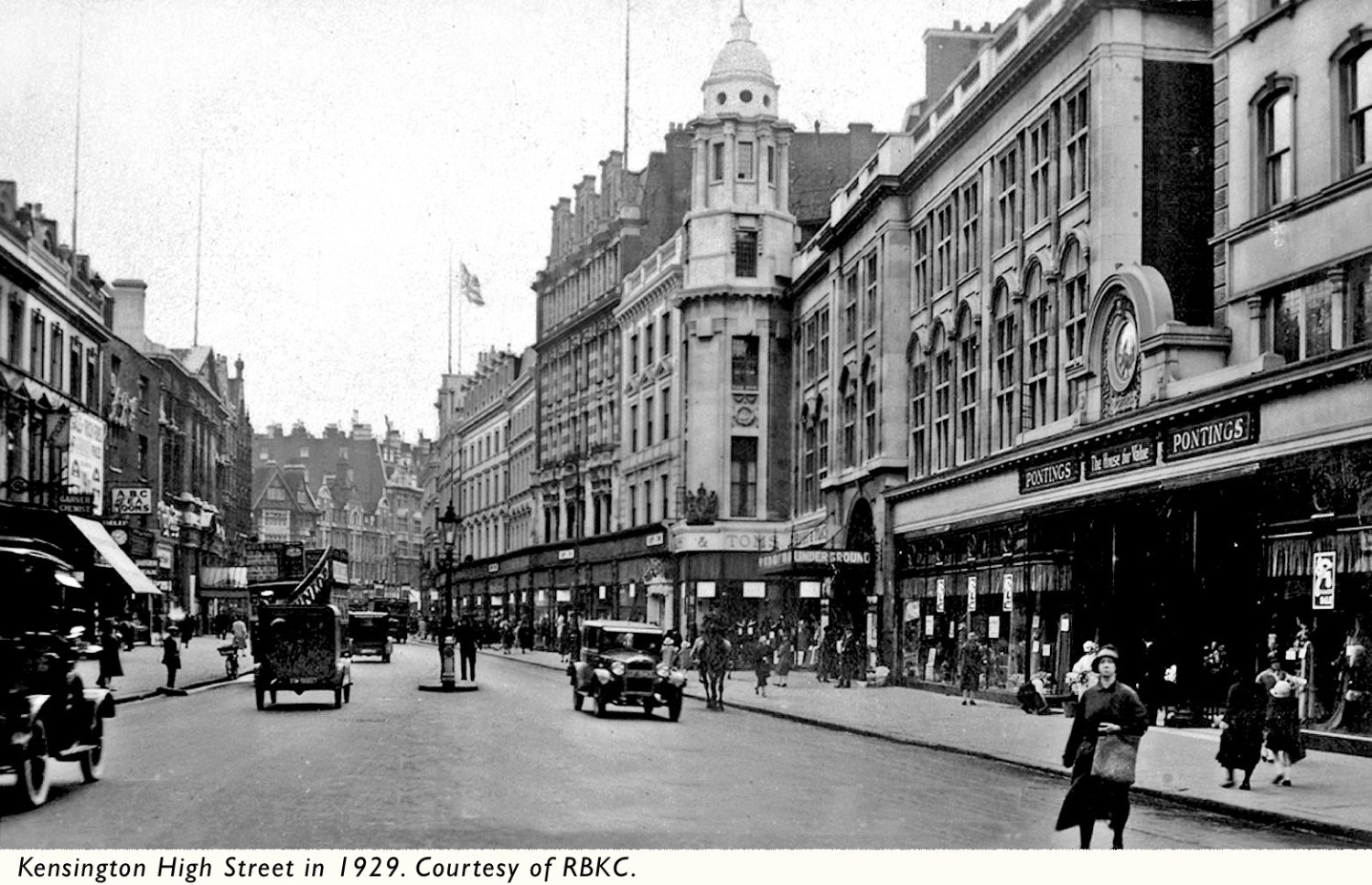 Kensington-High-Street-1929-caption