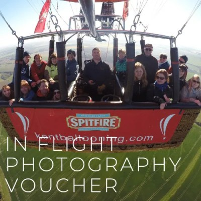 Kent Ballooning | In flight photography Voucher