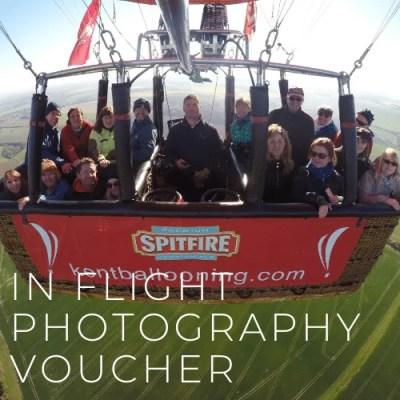 Kent Ballooning   In flight photography Voucher
