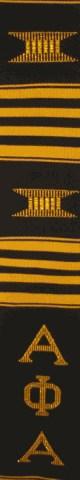 Alpha Phi Alpha (ΑΦΑ) kente stole