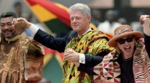 clinton-in-kente1-300x166 Ghanaian Kente Cloth