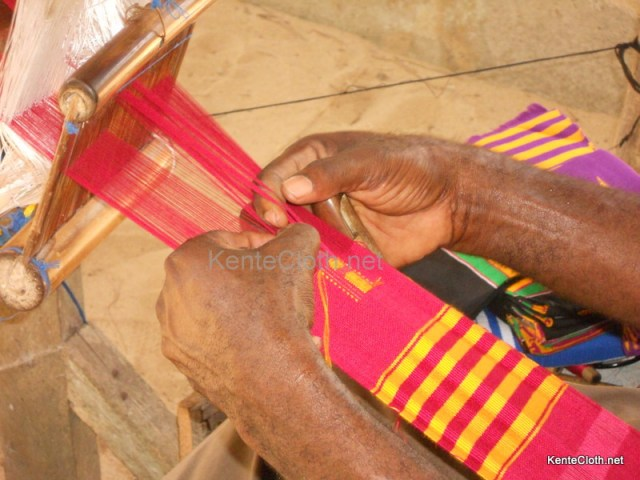 DSCN0936 Video: How Kente is Made