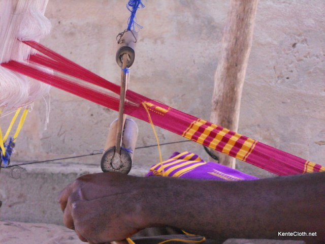 DSCN0938 Video: How Kente is Made