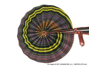Infinite-Wind African Print Folding Hand Fan