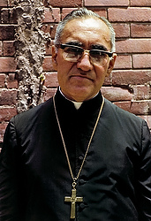 Salvadoran Archbishop Oscar Romero is pictured in a 1979 photo in San Salvador. A panel of theologians advising the Vatican's Congregation for Saints' Causes voted unanimously Jan. 8 to recognize the late Salvadoran archbishop as a martyr, according to the newspaper of the Italian bishops' conference. (CNS photo/Octavio Duran) See ROMERO-THEOLOGIANS Jan. 9, 2015.
