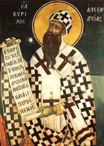 H. Cyrillus van Alexandrië2