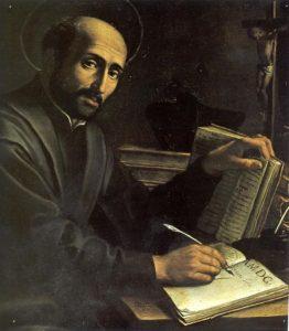 www.heiligen-3s.nl/heiligen/07/31/07-31-1556-Ignatius-Loyola.php +++ Illustratie.