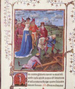 H. Helena, terugvinding van het kruis