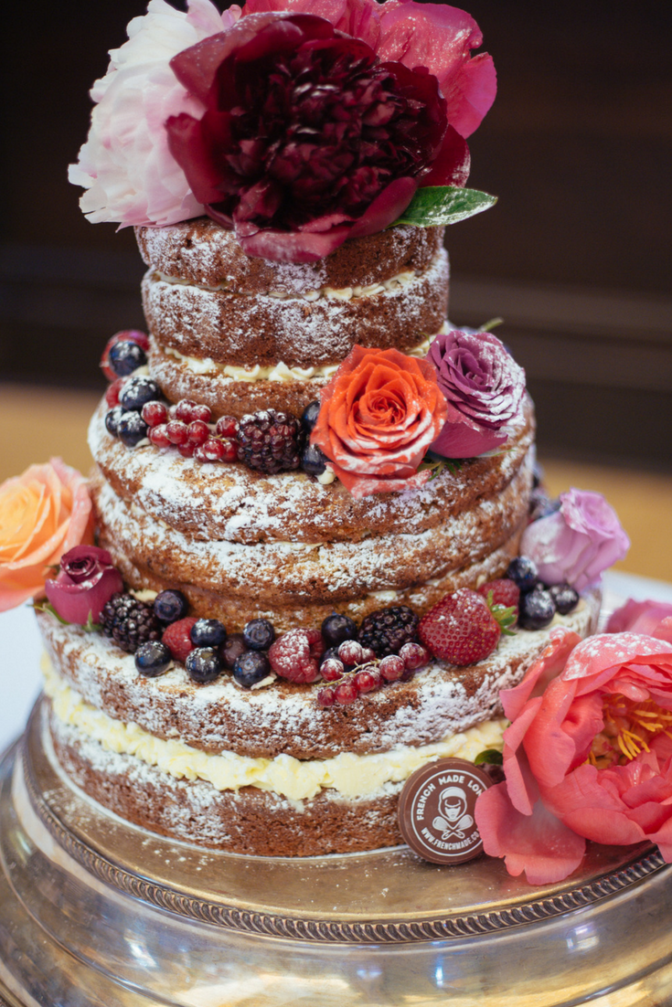 French Made Naked Cakes